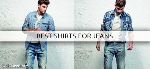 best shirts for jeans
