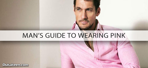 man's guide to wearing pink