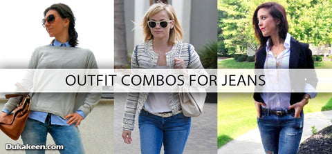 outfit combos for jeans