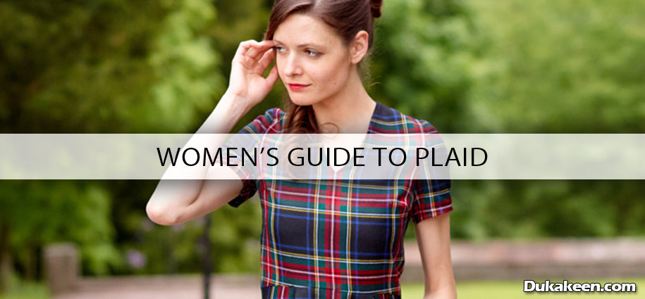 women's guide to plaid