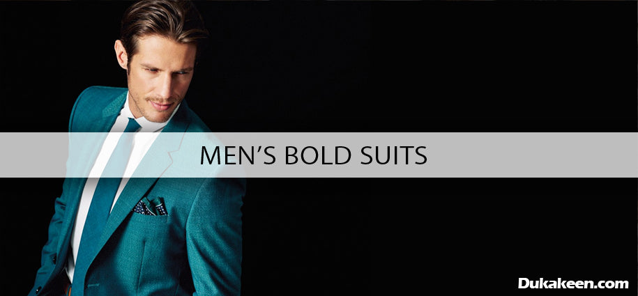 men's bold suits
