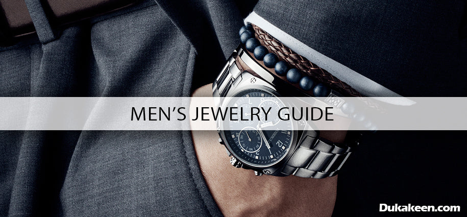 men's jewelry guide