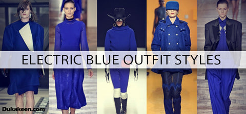 Electric Blue outfit ideas