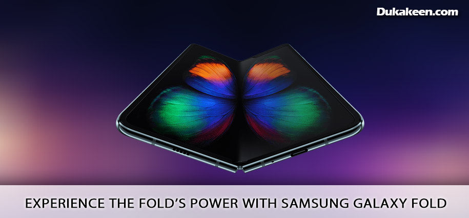 Experience the Fold's power with Samsung Galaxy Fold