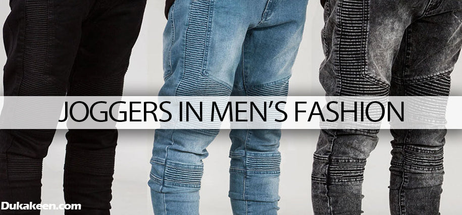 Joggers in men's fashion