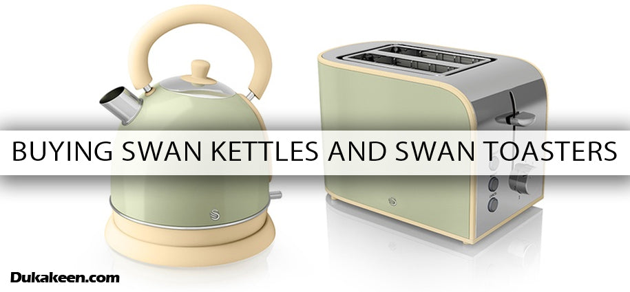 Buying Swan Dome Kettles and Toasters