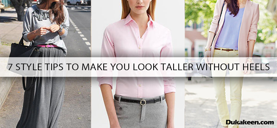 Tips to Look Taller Without Heels
