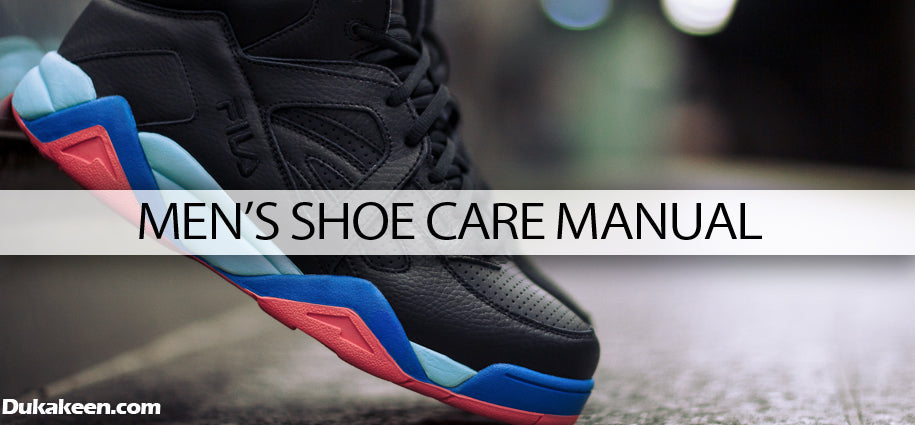 Men's shoe care manual