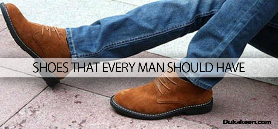 Shoes that every man should have
