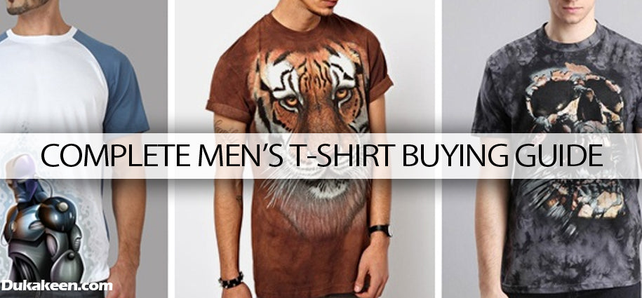 Complete men's T-shirt buying guide