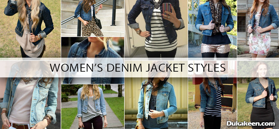 Women's Denim Jacket styles