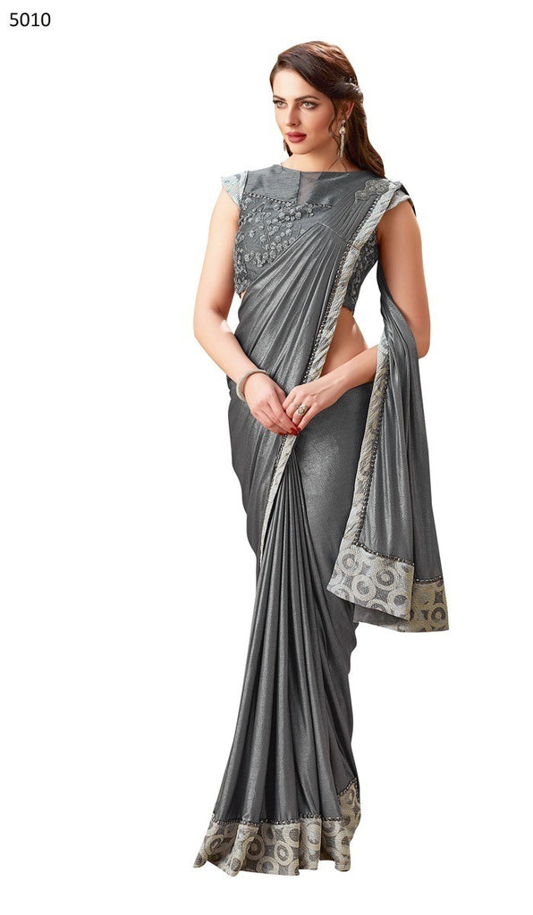 Maryam - Lycra Ready To Wear Saree