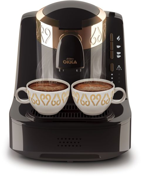 Arzum Okka Turkish Coffee Machine Black/Copper OK001
