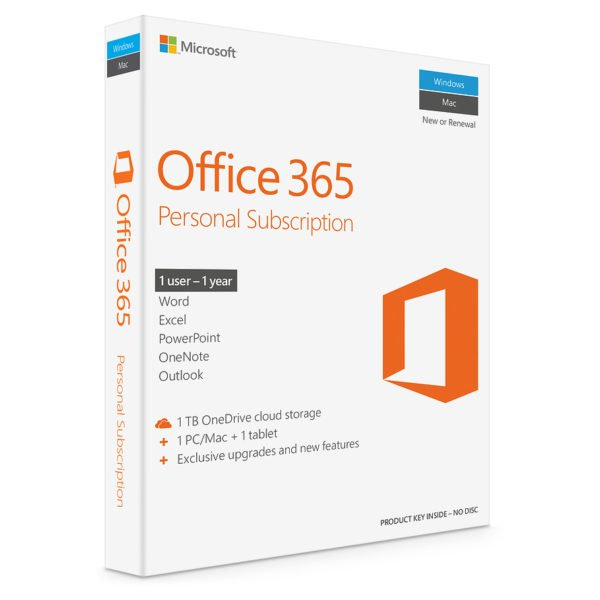 Microsoft QQ200005 Office 365 Personal Software Online Product Key License