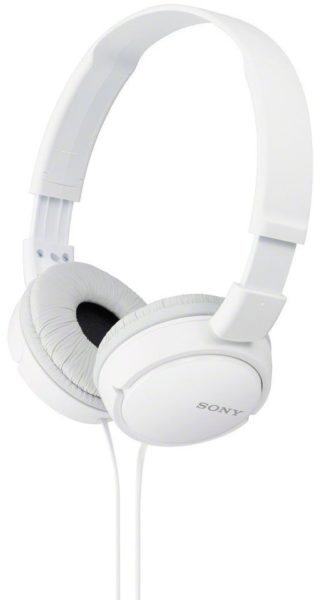 Sony Over Ear Headphone With Out Mic White