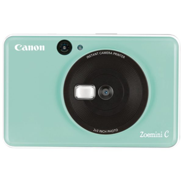 Canon ZOEMINI C Instant Camera With Printer Mint Green