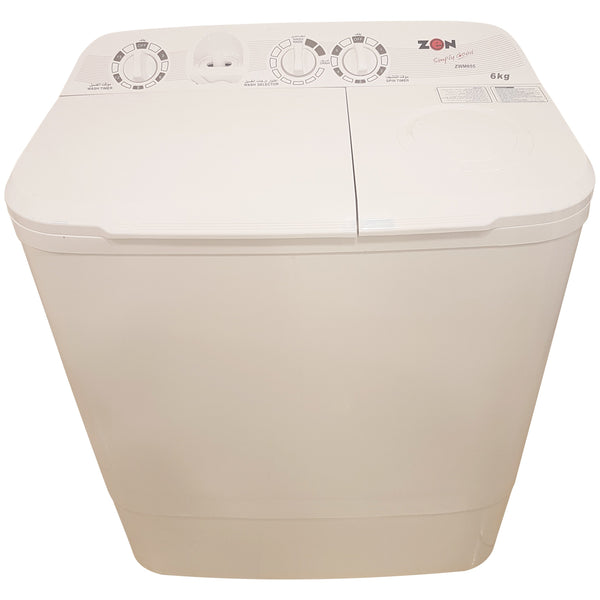 Zen Top Load Semi Automatic Washer 6 kg ZWM655