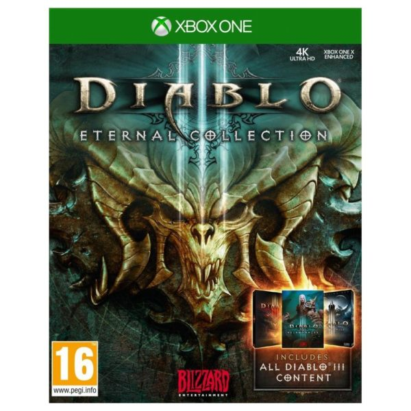 Xbox Games - Xbox One Diablo 3 Eternal Collection Game | Buy online in Bahrain