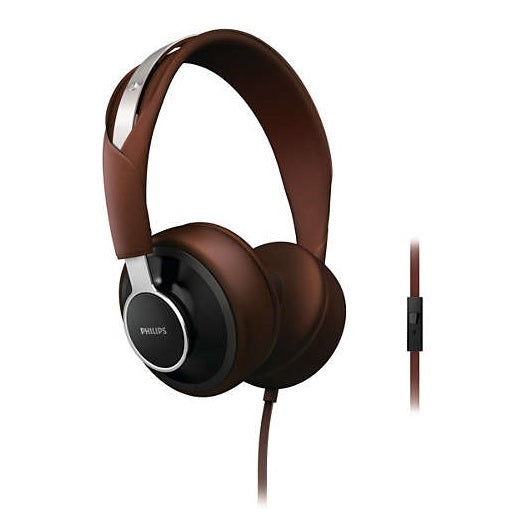 Philips SHL5605BK/10 On Ear Headphone Brown