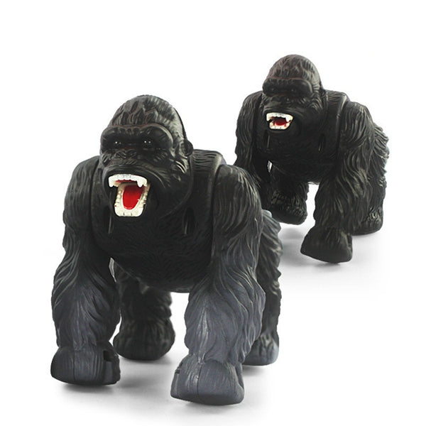 1 Pcs Infrared Remote Control Simulation Orangutan RC Animal Toy 9983