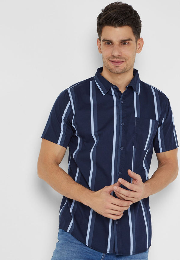 COTTON ON  Vintage Striped Shirt