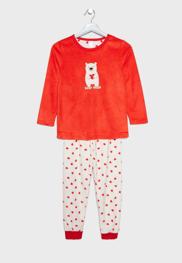OUTDOOR  Kids Polar Bear Pyjama Set