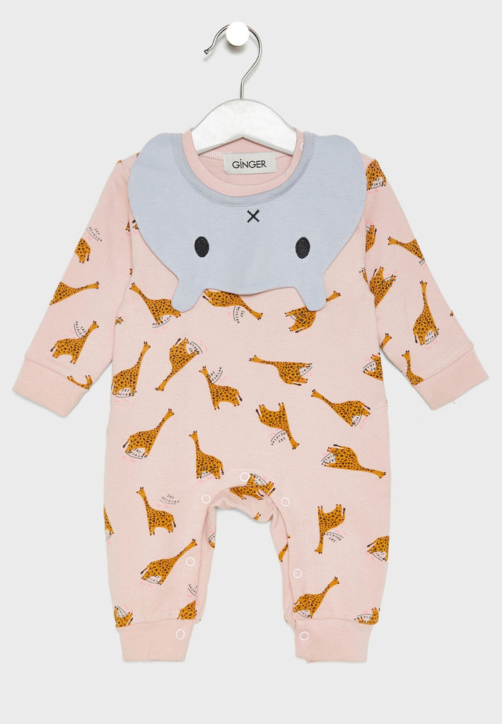 LOUNGE DISTRICT  Printed Onesie