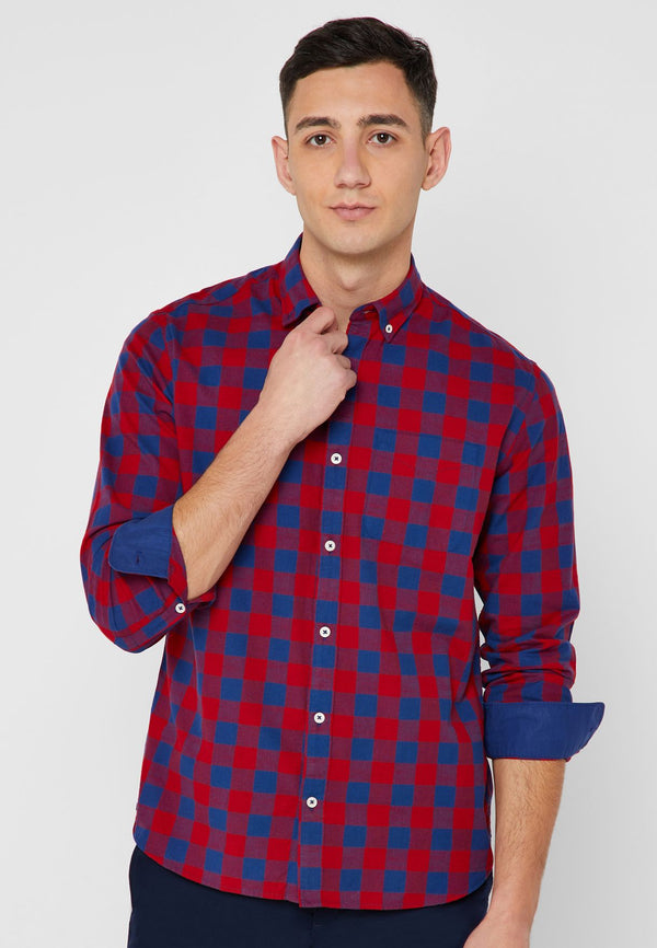 MANGO MAN  Claude Checked Shirt