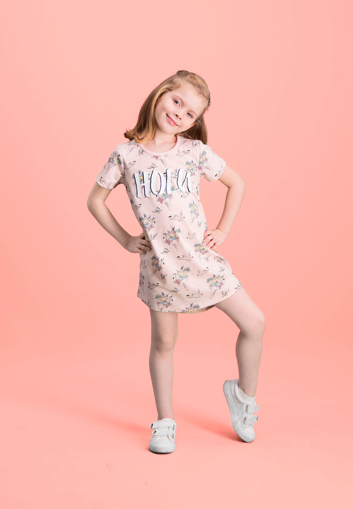 ROLY POLY  Kids Floral Bouquet Night Dress