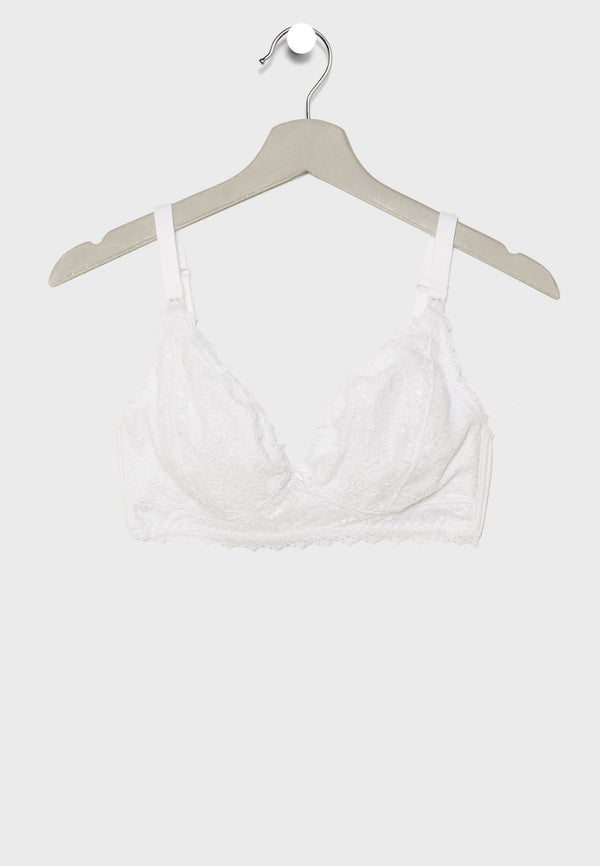 Lace Maternity & Nursing Bra