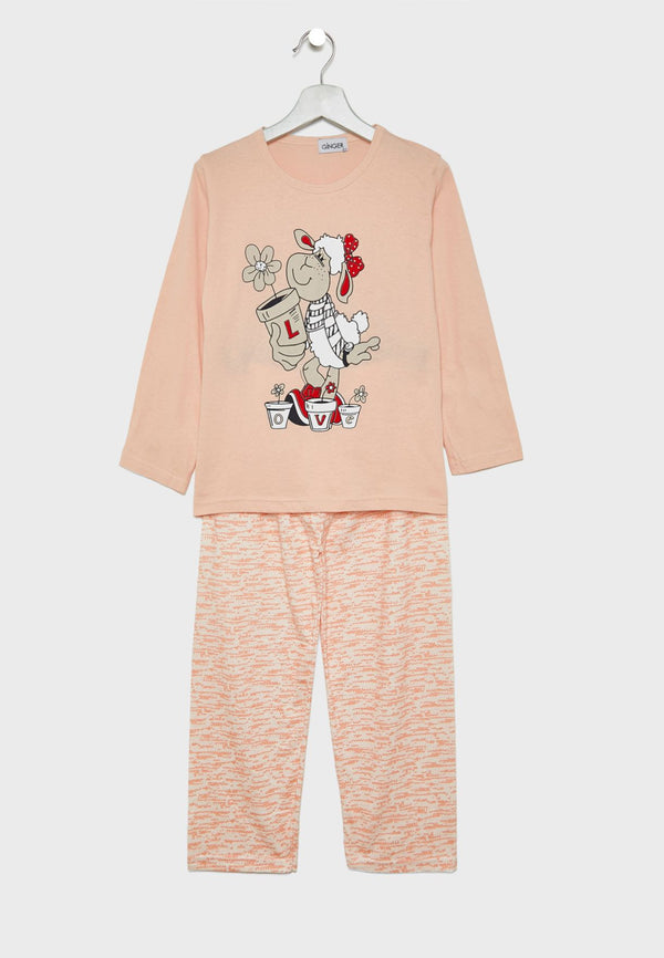 LOUNGE DISTRICT  Printed Pyjama Set