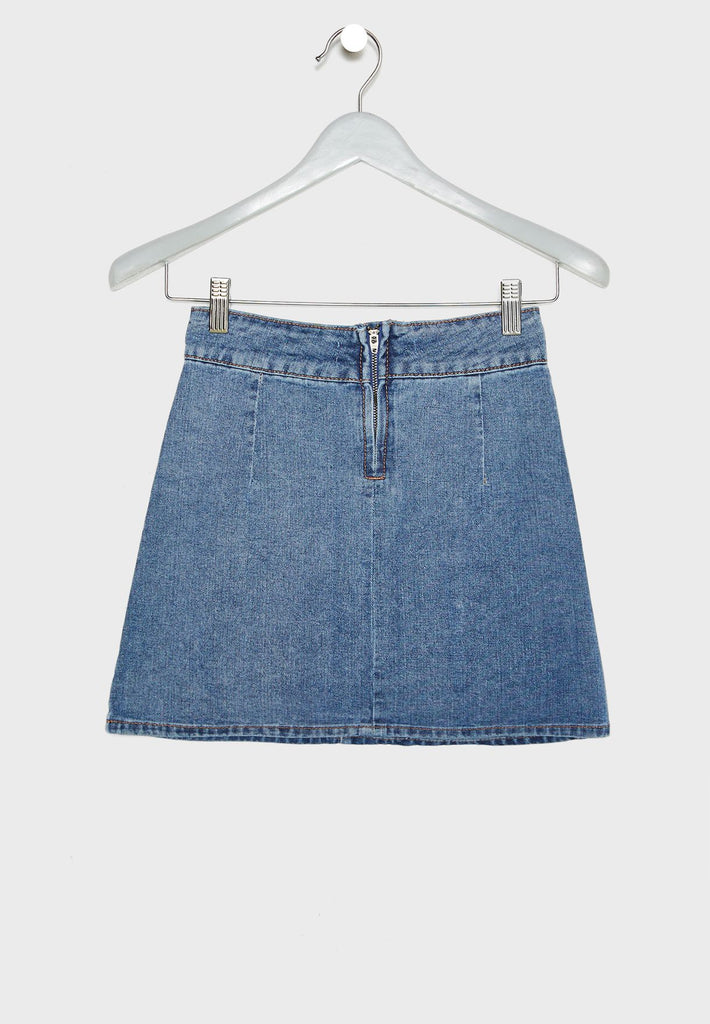 RESERVED  Teen Denim Skirt