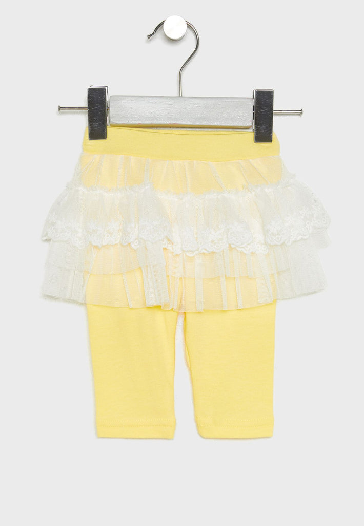 NAME IT Infant Layered Skirt with Leggings