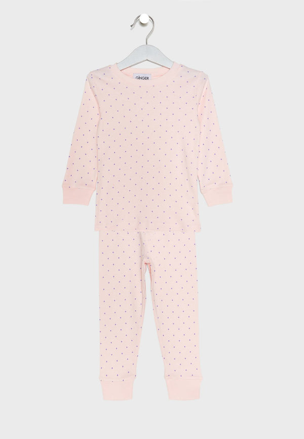 LOUNGE DISTRICT  Dotted Pyjama Set