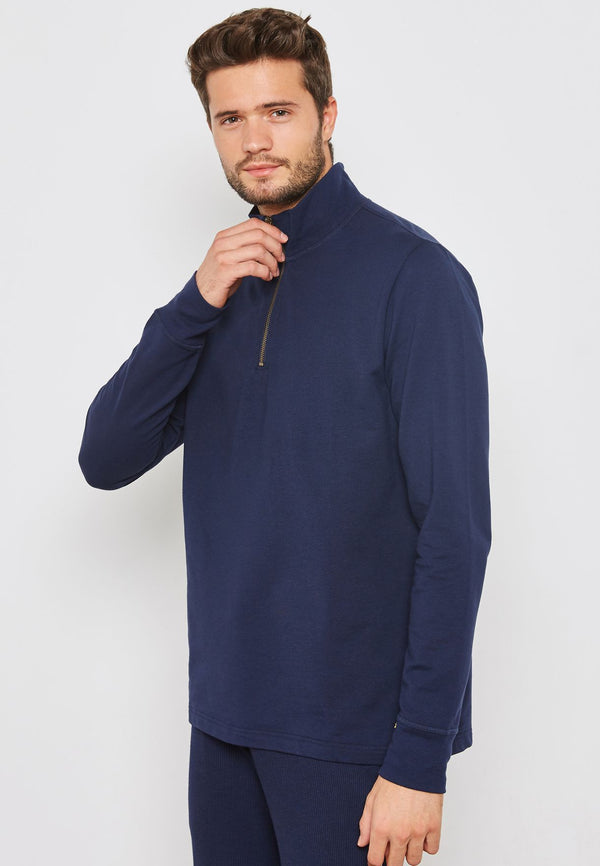 POLO RALPH LAUREN Essential Half Zip Sweater