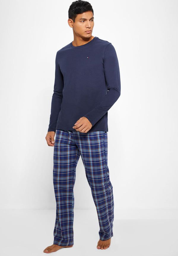 TOMMY HILFIGER Checked Pyjama Set