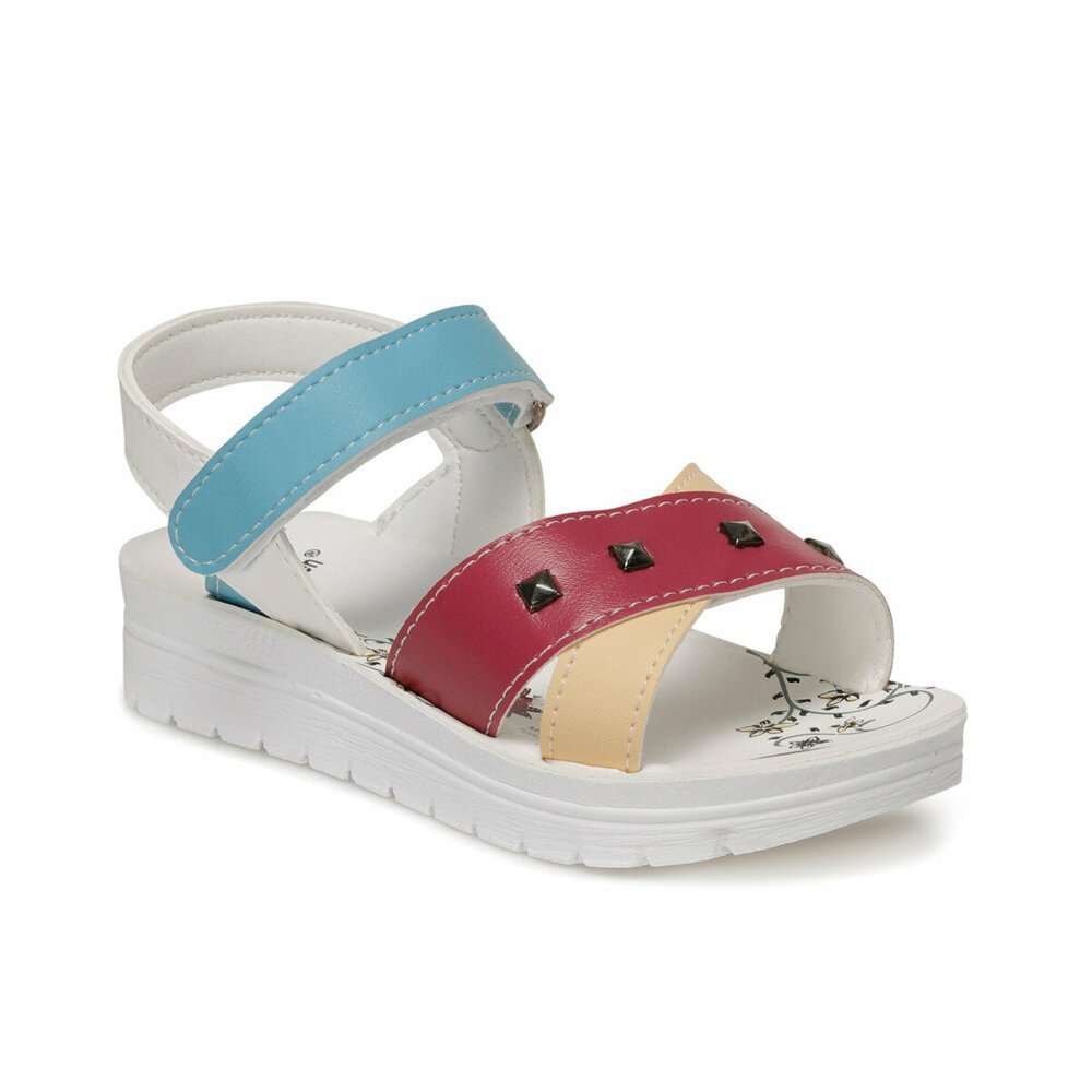 Girls' multi-color sandal
