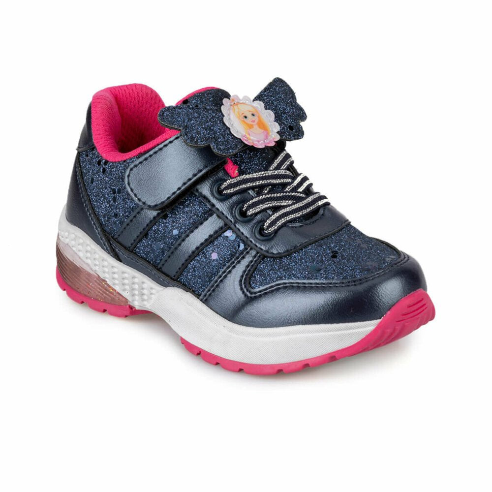 Girls dark blue navy sneakers