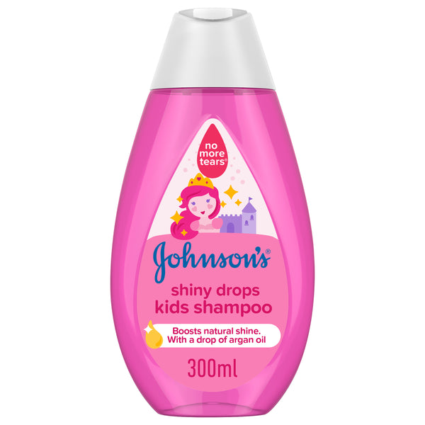 Johnson's Shampoo Shiny Drops Kids Shampoo 300ml