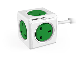 Allocacoc PowerCube Extended UK; GREEN