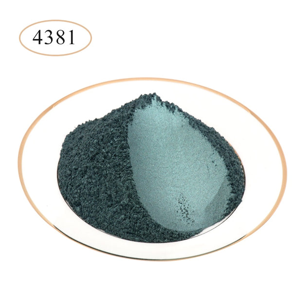 10g 50g Type 4381 Pigment Pearl Powder Healthy Natural Mineral Mica Powder DIY Dye Colorant,use for Soap Automotive Art Crafts
