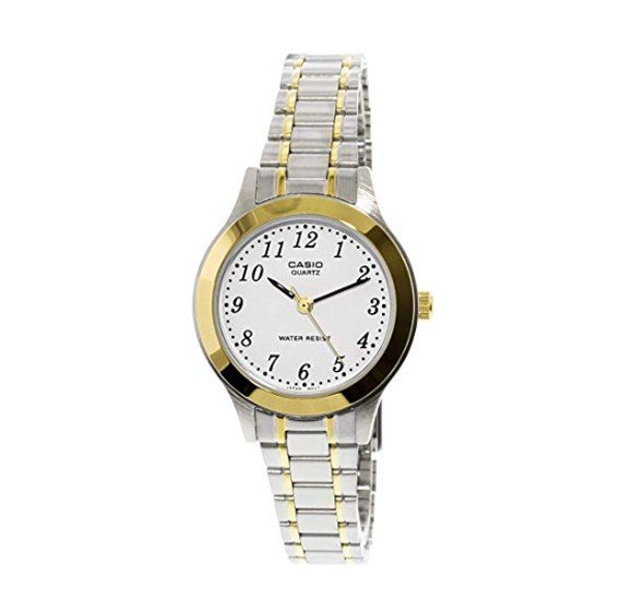 Casio LTP-1128G-7BRDF Watch for Women - Analog, Formal