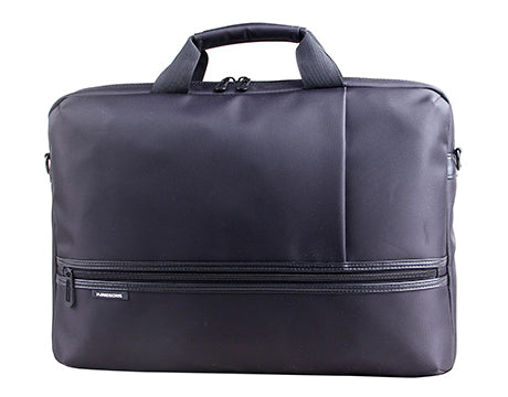 "Kingsons Diplomat Series 15.6"" laptop shoulder bag (Black) K8881W"