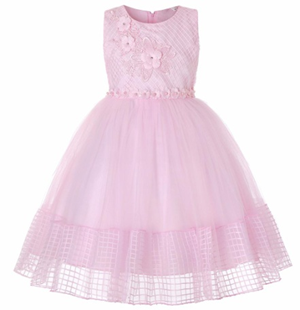 LILAC Lovely girl Birthday party Dress