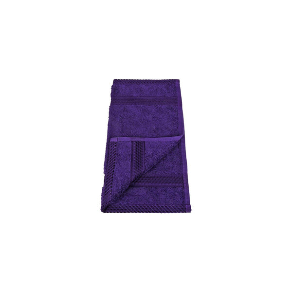 Laura Collection Face Towel Purple Size: W30 x L30cm