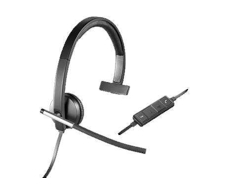 Logitech Headset Wired USB H650e Mono