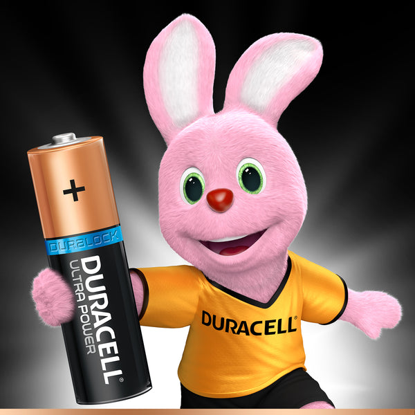 Duracell Ultra Power Type AA Alkaline Batteries 4pcs