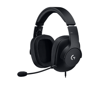 Logitech Gaming Headset PRO 3.5 MM- BLACK (New)