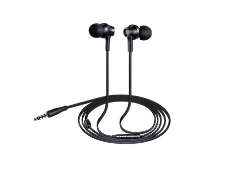RAPOO EARPHONE WIRED WITH MIC EP30 - BLACK