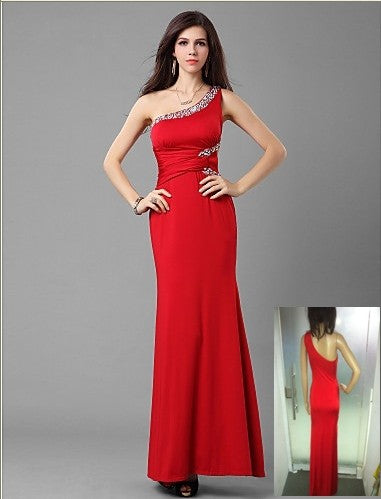 Free Size Red Long Dress For Women